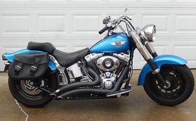 Harley-Davidson : Softail Harley Davidson FatBoy Fat Boy FLSTF 2004 Mild Custom Stock engine LOW MILES!