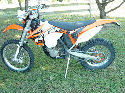 KTM : Other 2012 ktm 500 xcf w clean ok street title fuel injected exc mxc xcf 350 450 525