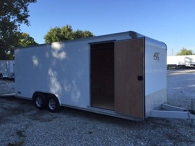 8.5 X 20 ATC Enclosed Aluminum Car Hauler Race Trailer