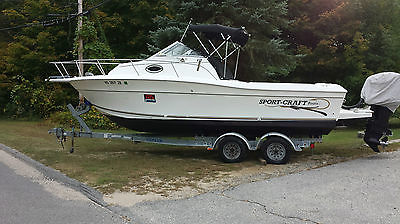 2000 Sport-Craft 231 WA Sport Fishing