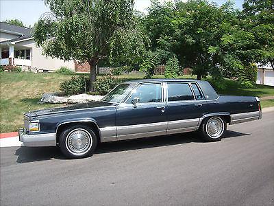 Cadillac : Fleetwood BROUGHAM 1990 cadillac fleetwood brougham