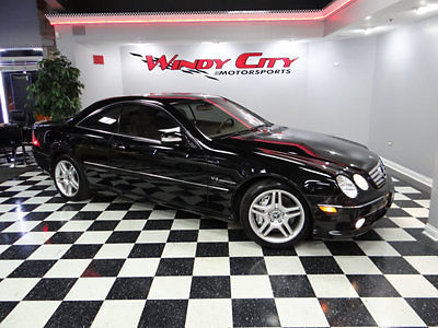 Mercedes-Benz : CL-Class 2dr Coupe 5.5L AMG 2003 mercedes benz cl 55 amg coupe supercharged 500 hp navigation k 40 radar sirius