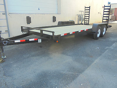 New Welch 82x18 10K Equipment Car Landscape Tractor Bobcat Utility Trailer