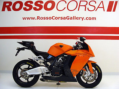 KTM : Other LIKE NEW KTM RC8 with FULL AKRAPOVIC SYSTEM / very rare with only 2382 miles