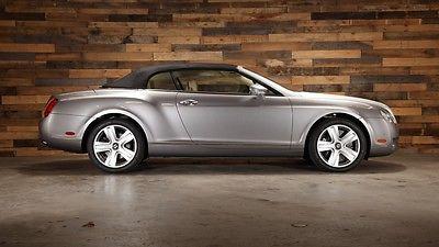 Bentley : Continental GT Convertible 2007 bentley continental gt convertible 2 owner 40 k dealer serviced gtc wow