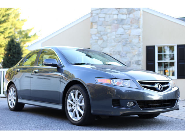 Acura : TSX NAVIGATION 2006 acura tsx sport sedan factory navigation accident free autocheck 1 owner