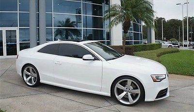 Audi : Other COUPE 2013 audi rs 5 white 33 k miles navigation clean carfax one owner