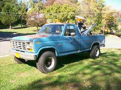 Ford : F-250 F250 1983 ford f 250 4 x 4 truck