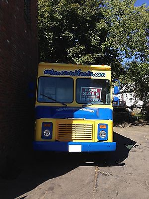 Chevrolet : Other P30 1994 chevy p 30 step van food truck