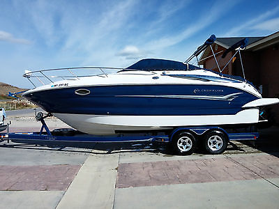 2004 Crownline 25CR only 265 hours REDUCED!NICE!!! WAY BELOW BOOK VALUE!!