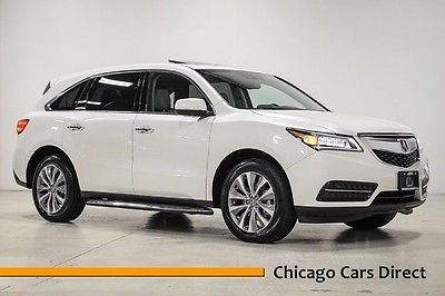 Acura : MDX Tech Package 14 mdx sh awd 4 x 4 technology navigation gps els surround sound rear camera il wi
