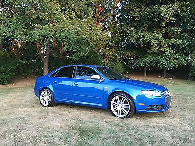 Audi : S4 Base Sedan 4-Door 2007 audi s 4 sprint blue 6 speed manual
