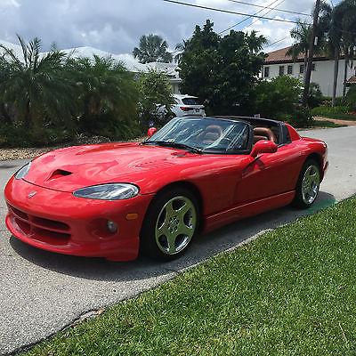 Dodge : Viper RT 10 2000 dodge viper 1 owner 17 k miles