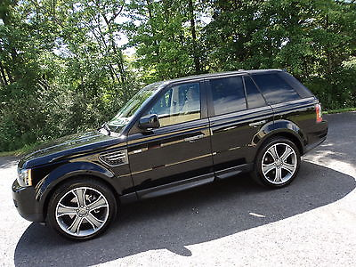Land Rover : Range Rover Sport RANGE ROVER SPORT HSE RANGE ROVER SPORT HSE*BLK/TAN*JUST SERVICED*SUPER CLEAN*GOOD CARFAX*$35995/OFFER
