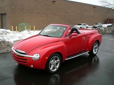 Chevrolet : SSR Base Convertible 2-Door SSR 2003 Chevrolet-7912 Miles-Like New Condition,Saddle Bags, Wood Trim in Bed