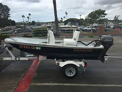 Boston Whaler 11 foot with 18hp 4 stroke