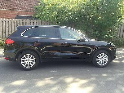 Porsche : Cayenne Base Sport Utility 4-Door Porsche Cayenne 2012 Black 4-Door 3.6L AWD Sunroof