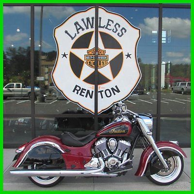 Indian : Chief 2015 indian chief classic indian redthunder black used