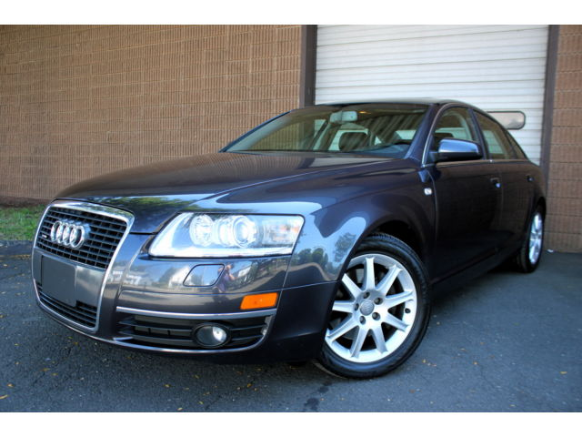 Audi : A6 3.2L Sedan MAKE OFFER - 1 OWNER - CLEAN CARFAX - ALLWHEEL DRIVE - LEATHER - MOONROOF - BOSE