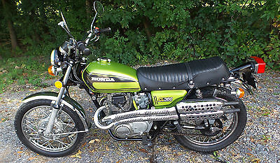 Honda : CL 1974 honda cl 360 cl 360 scrambler 6 speed twin motorcycle original with title