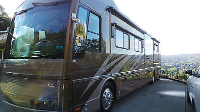 2005 AMERICAN COACH EAGLE 40 J SPARTAN CHASSIS CUMMINS 400 HP DIESEL PUSHER
