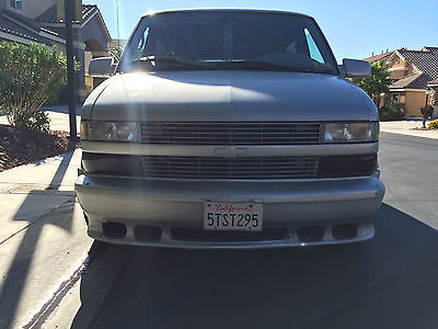 Chevrolet : Astro LS Custom Silver 96 Chevy Astro Van $6000 Or Best Offer Low Miles!