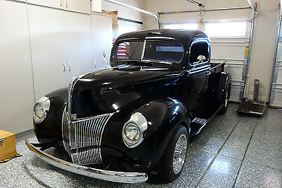 Ford : Other Pickups Pick-up Truck 1940 40 ford pick up truck hot rod