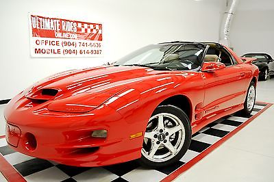 Pontiac : Firebird TRANS AM WS6 RAM AIR 2001 pontiac firebird trans am ws 6 ram air manual 32 k miles leather pristine