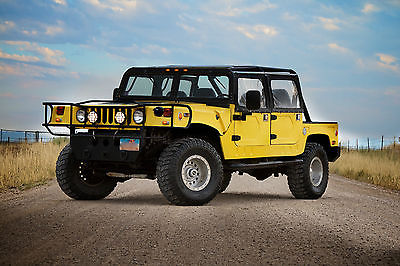 Hummer : H1 Base Sport Utility 4-Door 004 hummer h 1 replica 4 x 4 bummer big block 8.1 l 1 ton with 8 leather seats