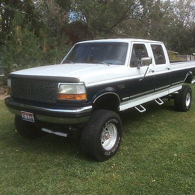 Ford : F-250 XLT F-350 1993 ford xlt f 350 250 4 x 4 crew cab