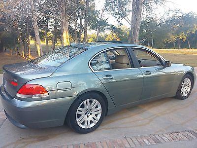 BMW : 7-Series 745I 2002 bmw 745 i