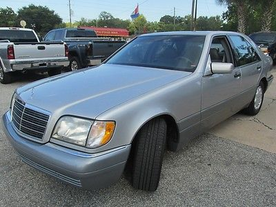 Mercedes-Benz : S-Class S320 1996 mercedes benz s class 1996 mercedes s 320 sunroof leather 61 k fully loaded t