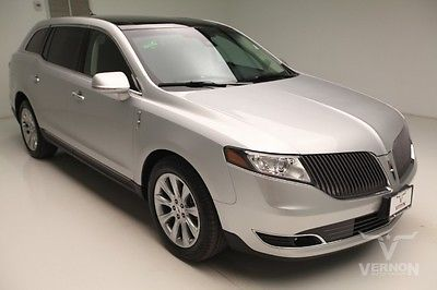 Lincoln : MKS EcoBoost AWD 2013 navigation sunroof leather heated cooled v 6 ecoboost we finance 64 k miles