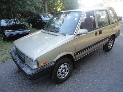 Nissan : Other 4WD 1986 nissan stanza van 4 wheel drive 5 speed manual