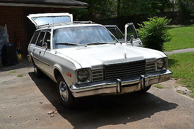 Dodge : Other S.E. 1978 dodge aspen s e wagon mopar hauler low miles