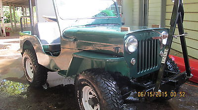 Willys : CJ3B jeep 1954 cj 3 b willy s jeep