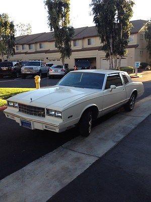 Chevrolet : Monte Carlo 1984 5.0 v 8 engine
