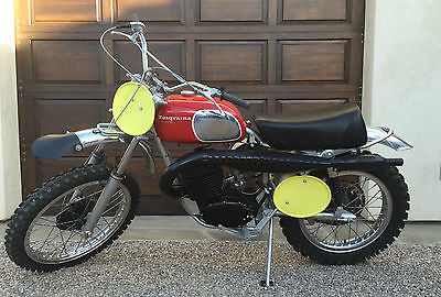 Husqvarna : 400 Cross 1970 husqvarna 400 cross autographed by torsten hall