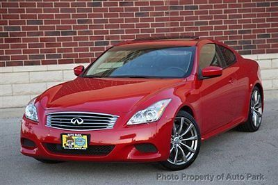 Infiniti : G37 2dr Sport 08 g 37 s coupe 6 speed manual navigation hid back up camera bluetooth sport clean