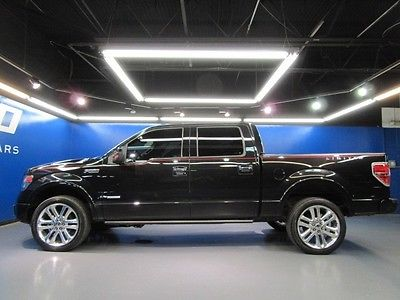 Ford : F-150 Limited 4X4 Ford F-150 Limited Supercrew 4WD Tailgate Step Nav Cam Cooled Seats $54kMSRP!