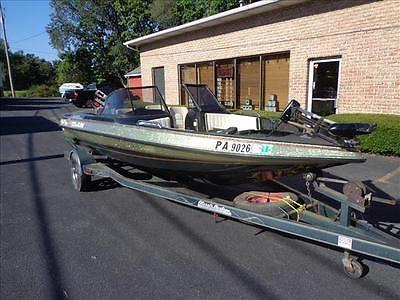 96 Cajun Espirit 1800 Fish n Ski fiberglass fishing boat