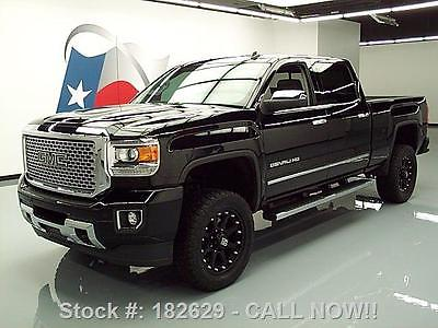 GMC : Sierra 2500 DENALI HD CREW LIFTED NAV 20'S 2015 gmc sierra 2500 denali hd crew lifted nav 20 s 19 k 182629 texas direct