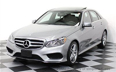 Mercedes-Benz : E-Class CERTIFIED E350 4Matic AMG Sport AWD PANORAMA / NAV AWD CERTIFIED 2014 6k miles NAVI panorama AMG keyless go XENONS back-up camera