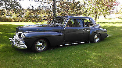 Lincoln : Other Streetrod 1948 lincoln continental streetrod