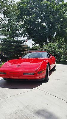 Chevrolet : Corvette 1996 LT4 Z51 torch red 1996 LT4 32,000 miles