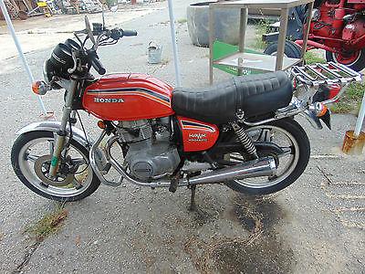 Honda : CB Vintage Honda Hawk 1978 CB400A rare Hondamatic automatic transmission Low Miles