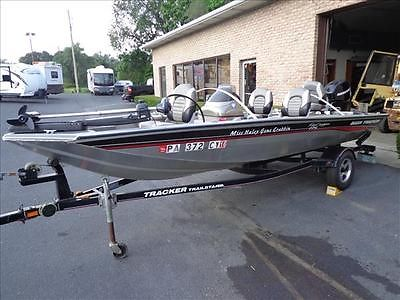 06 Bass Tracker Crappie Pro 175 fishing boat, Mercury 25hp four stroke motor