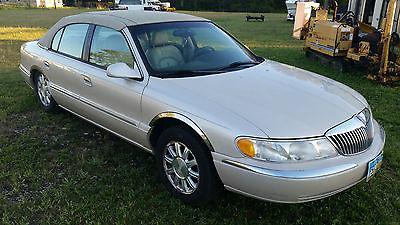 Lincoln : Continental Base Sedan 4-Door 1999 lincoln continental
