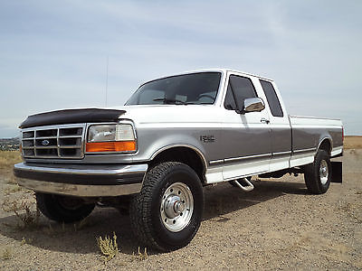 Ford : F-250 XLT 1994 ford f 250 xlt 4 x 4 factory 460 big block truck 110 k miles make offer