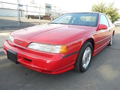 Ford : Thunderbird Super Coupe Coupe 2-Door 1990 ford thunderbird super coupe beautiful 54000 mile all original calif car